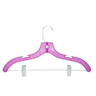 Crystal Tinted Suit Hanger in Pink (120-Pack)