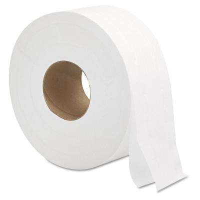 3.3 in. x 700 ft. 2-Ply Jumbo Roll Bath Tissue in White (12/Carton)