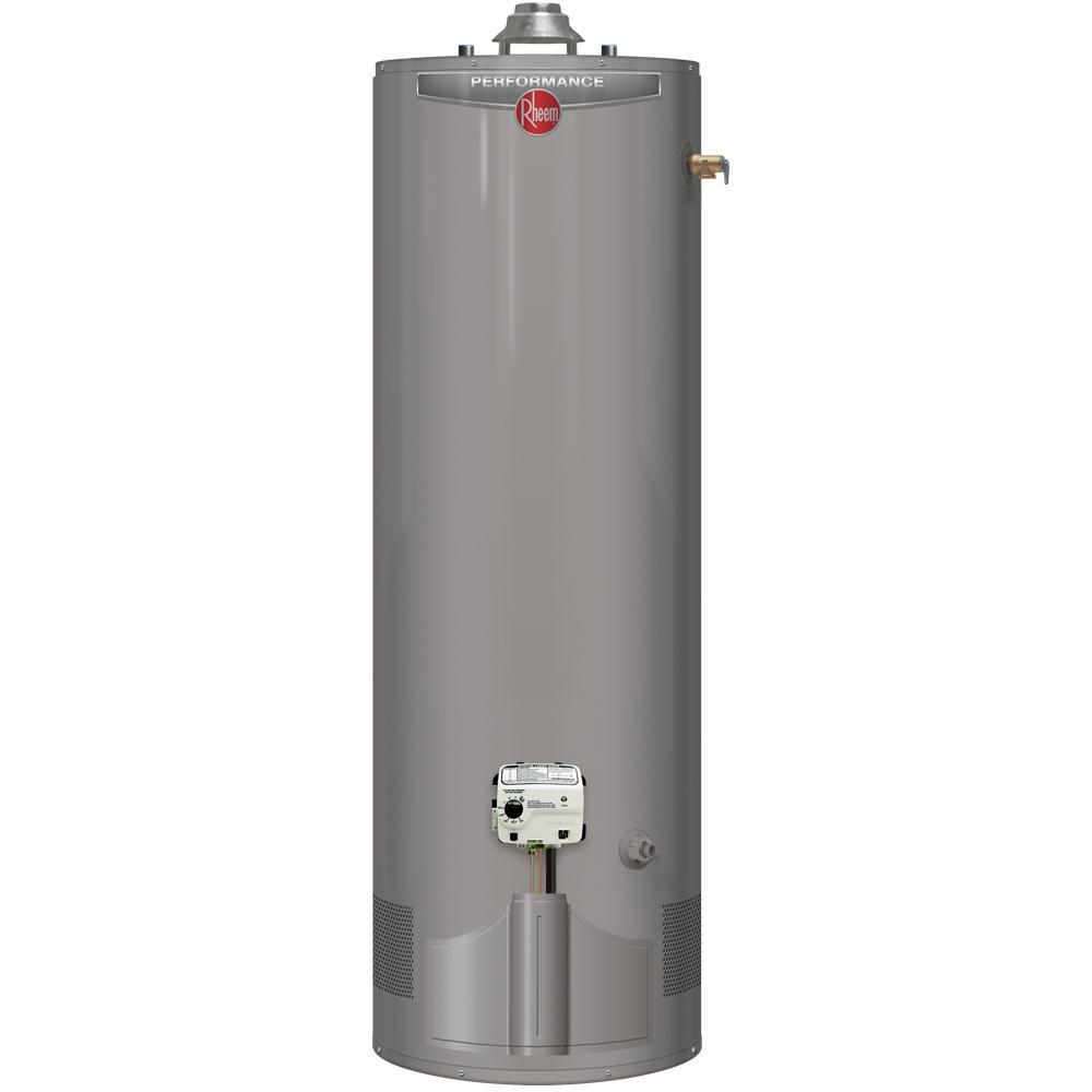 Performance 40 Gal. Tall 6 Year 38,000 BTU Ultra Low NOx (ULN) Natural Gas Tank Water Heater