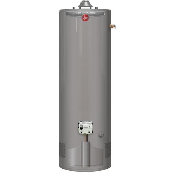 ''Performance 40 Gal. Tall 6 Year 38,000 BTU Ultra Low NOx (ULN) Natural Gas Tank Water Heater''