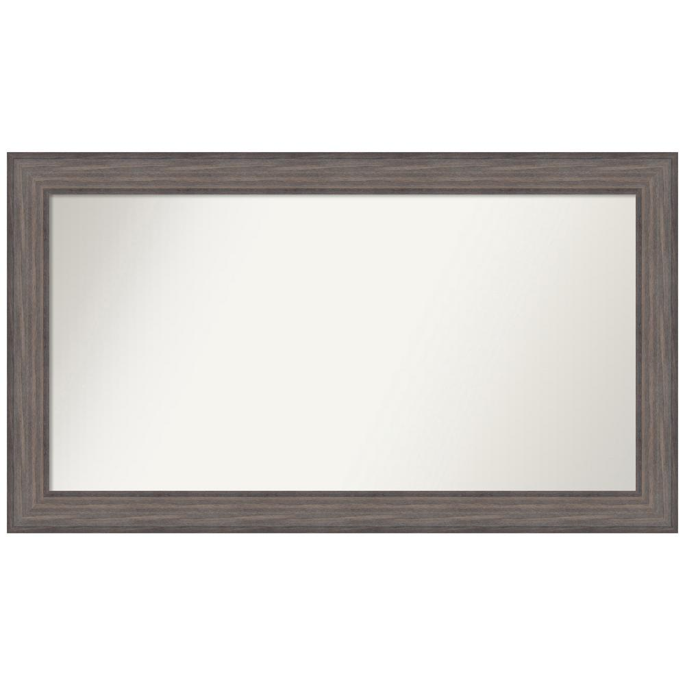Amanti Art Choose Your Custom Size 46.25 in. x 26.25 in. Country Barnwood Decorative Wall Mirror was $519.95 now $250.09 (52.0% off)