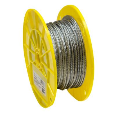 Everbilt 1/8 in  x 75 ft  Galvanized Dog Run Cable Exerciser