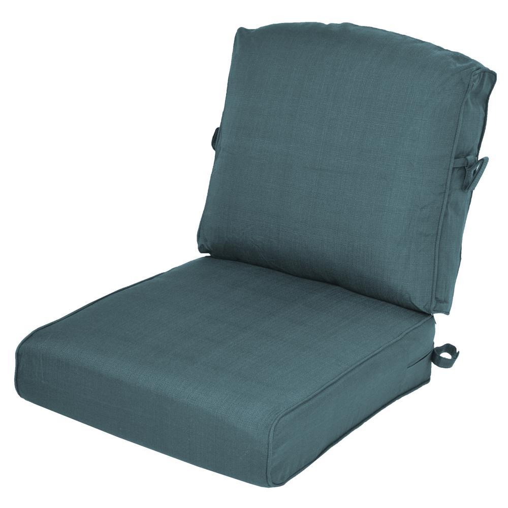 Charleston 2-Piece Deep Seating Outdoor Lounge Chair Cushion