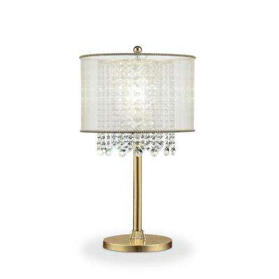 Crystal Gold Table Lamp