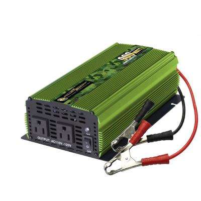 900-Watts 24-Volt DC to 110-Volt AC Power Inverter
