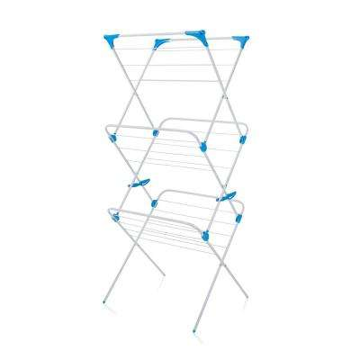 3-Tier Indoor Drying Rack in White