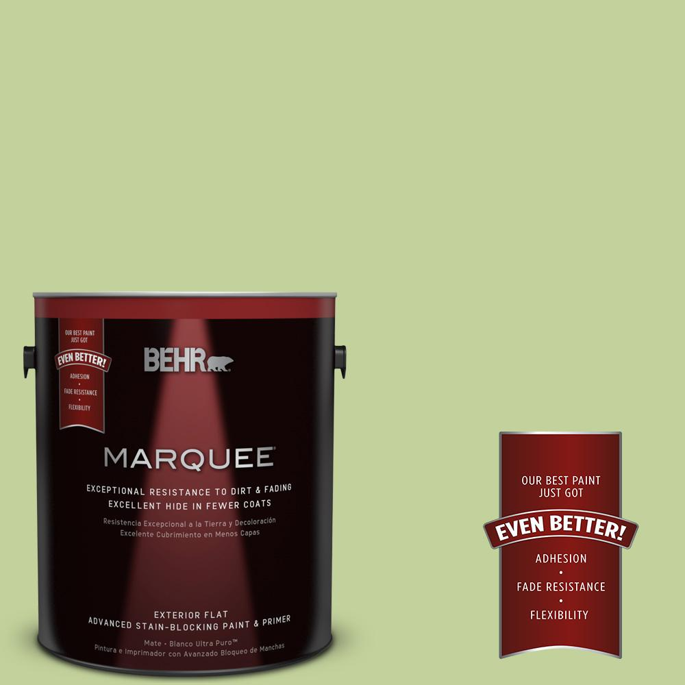 BEHR MARQUEE 1-gal. #P370-4 Cricket Field Flat Exterior Paint