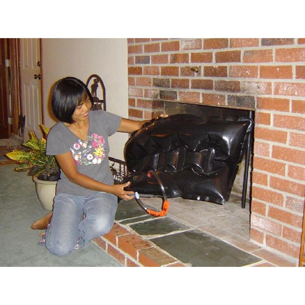 X 40 In Rectangular Fireplace Plug