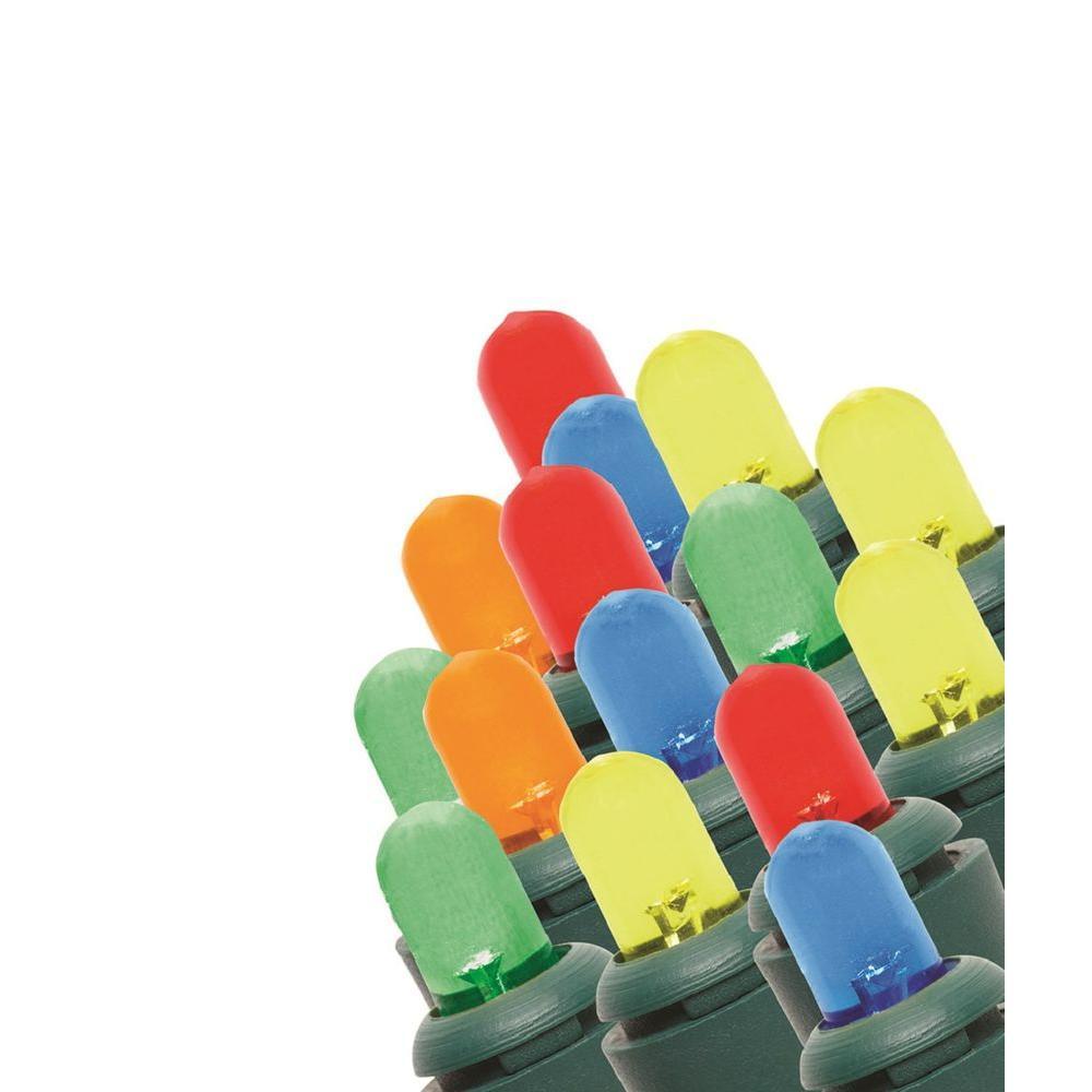 200-Light LED Multi-Colored Dome Light String