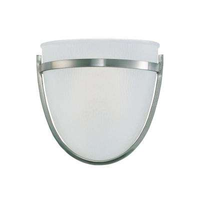 Eternity 1-Light LED Brushed Nickel Wall Sconce
