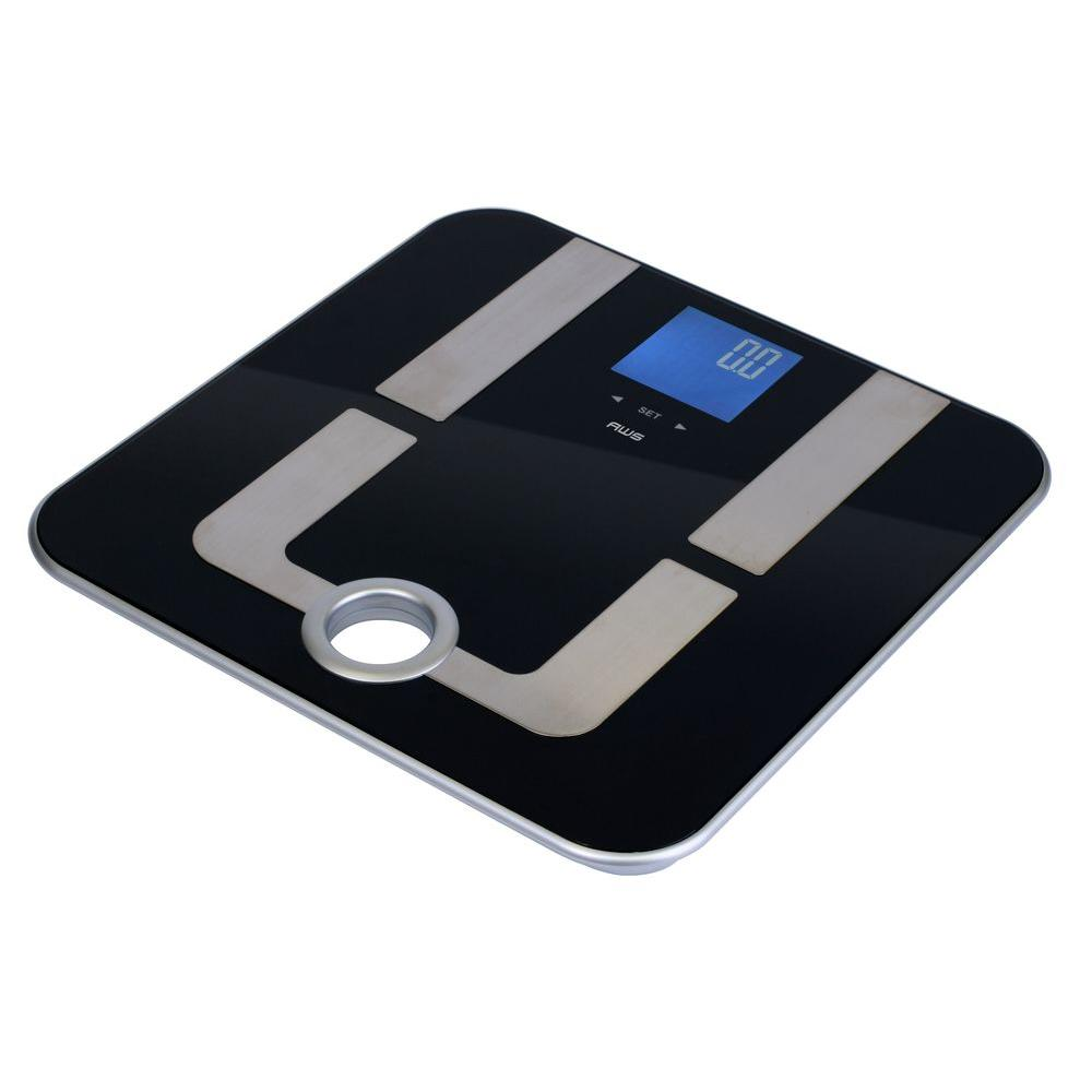 American Weigh AWS Mercury Pro Body Fat Scale 396 x 0.2 LB, Black