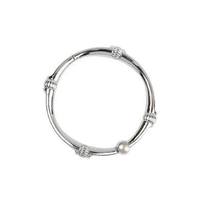 NeverRust Decorative Shower Rings in Chrome (12-Pack)