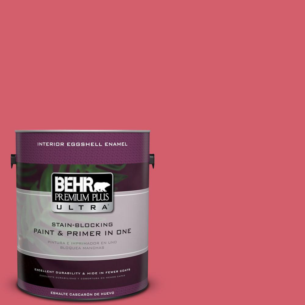 1 gal. #140B-6 Italiano Rose Eggshell Enamel Interior Paint and Primer