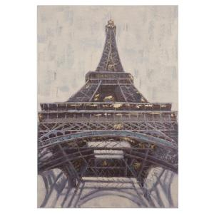 Yosemite Home Decor 39.4 inch H x 27.6 inch W Eyes Up Eiffel Tower Artwork in Canvas by Yosemite Home Decor