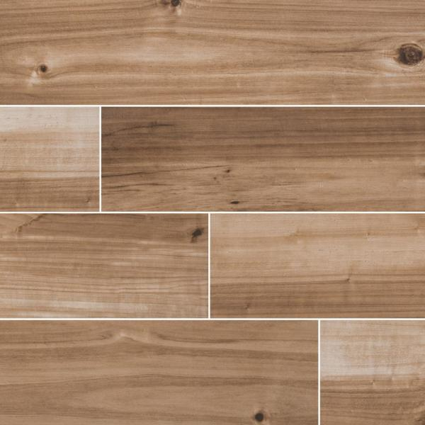 Havenwood Saddle 8 in. x 36 in. Matte Porcelain Floor and Wall Tile (14 sq. ft. / case)