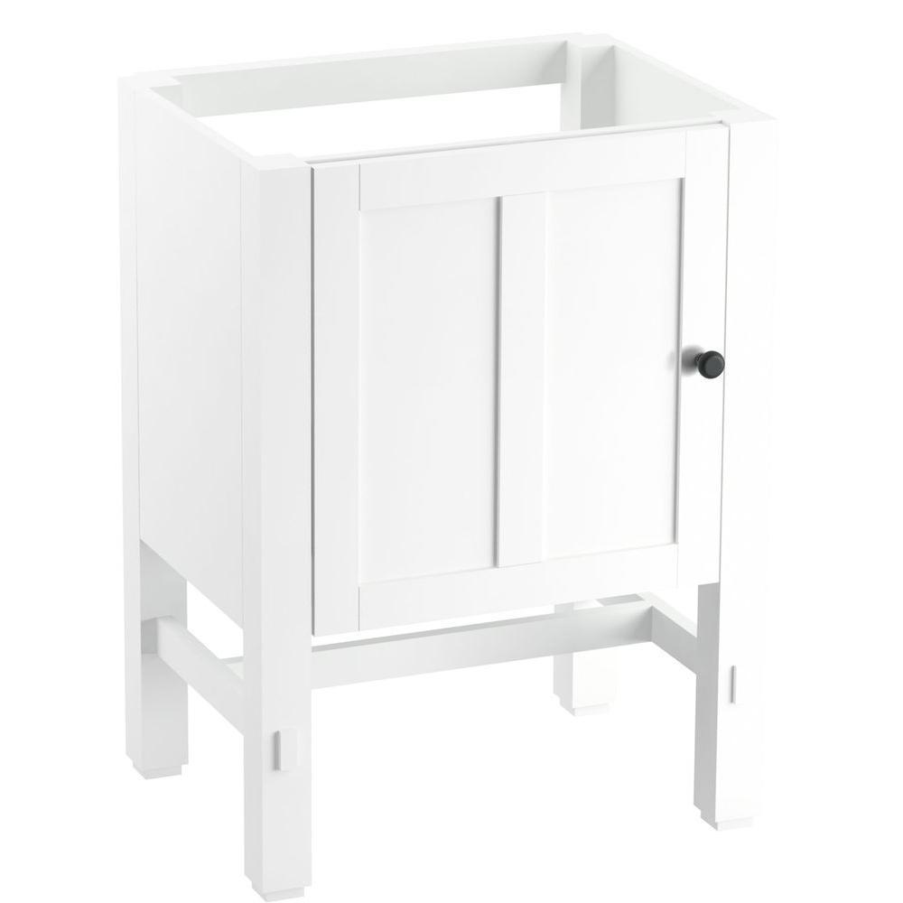 Tresham 24 in. W x 18-1/4 in. D x 32-1/2 in. H Vanity Cabinet in Linen White