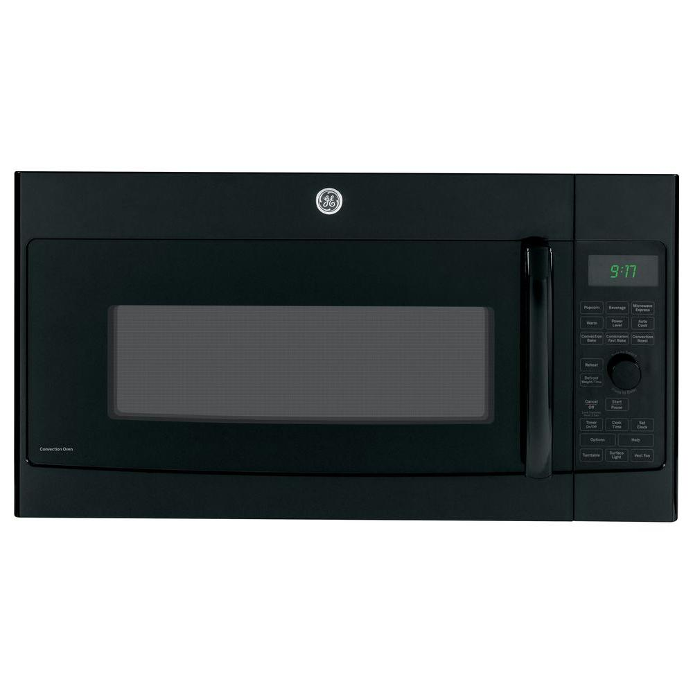 GE Profile 1.7 cu. ft. Over the Range Convection Microwave in Black with Sensor Cooking