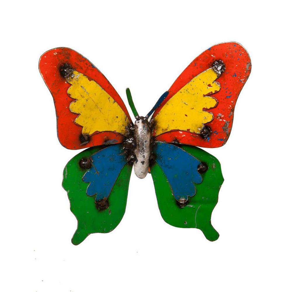 11 in. Ulysses Butterfly Garden Statue