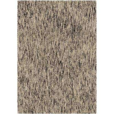 Multi-Solid SIlver 5 ft. x 8 ft. Area Rug