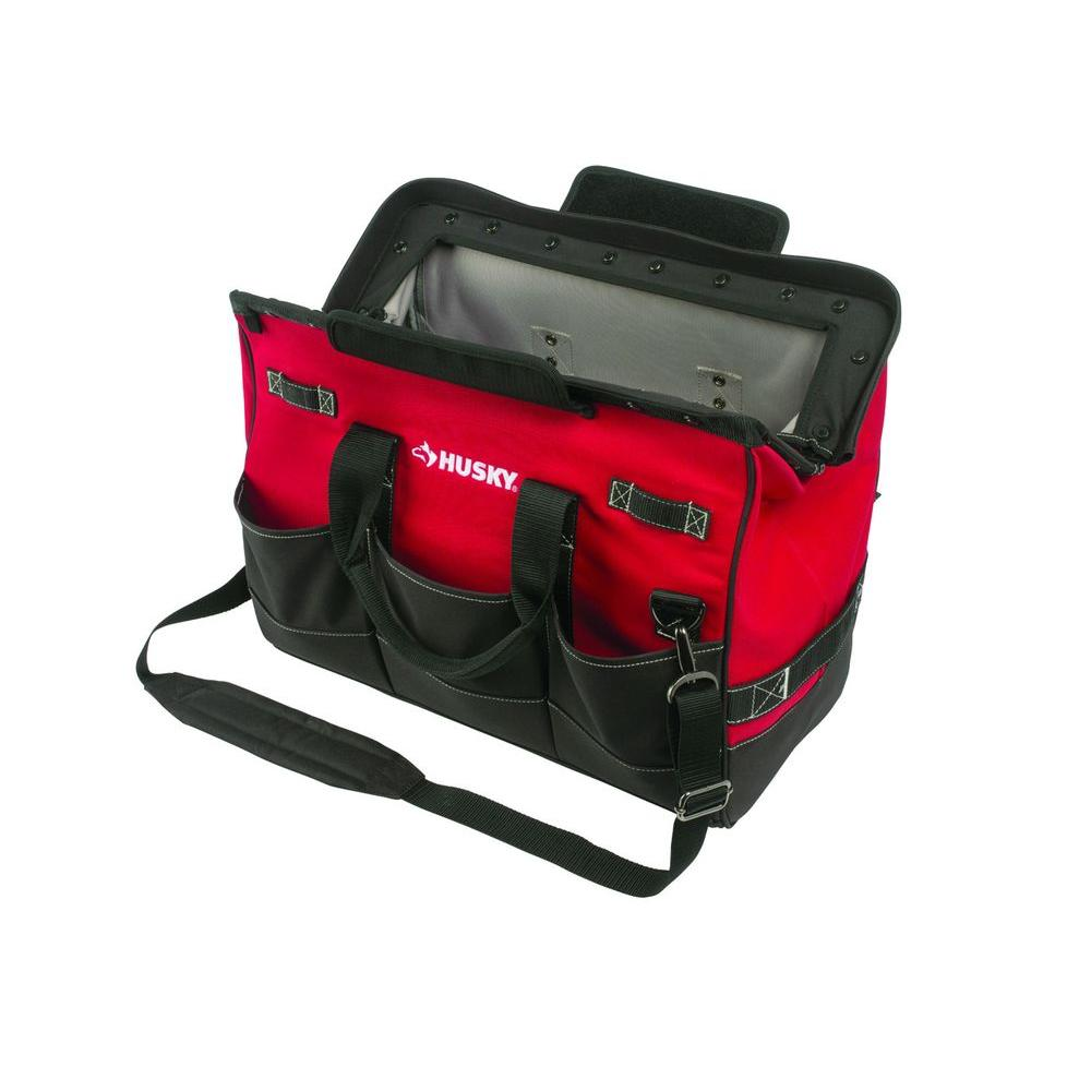 Husky 20 tool bag indoor garage lighting