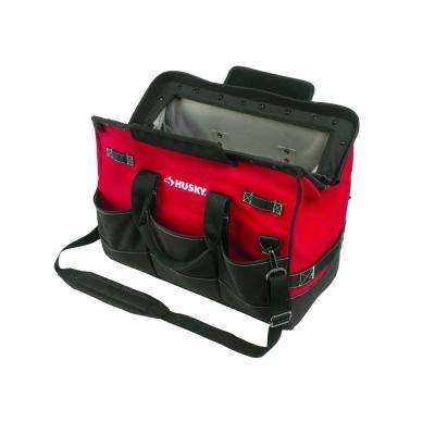 20 in. Tool Tote Bag with Magnetic Closure