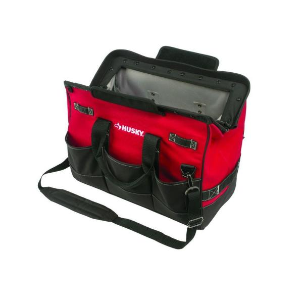 Husky 20 in. Tool Tote Bag with Magnetic Closure