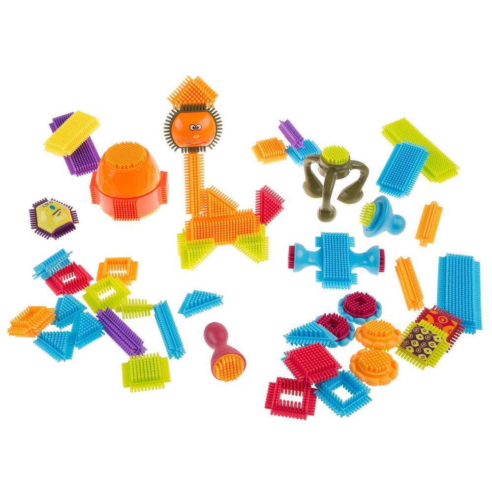 Bristle Shaped Building Block Toy Set
