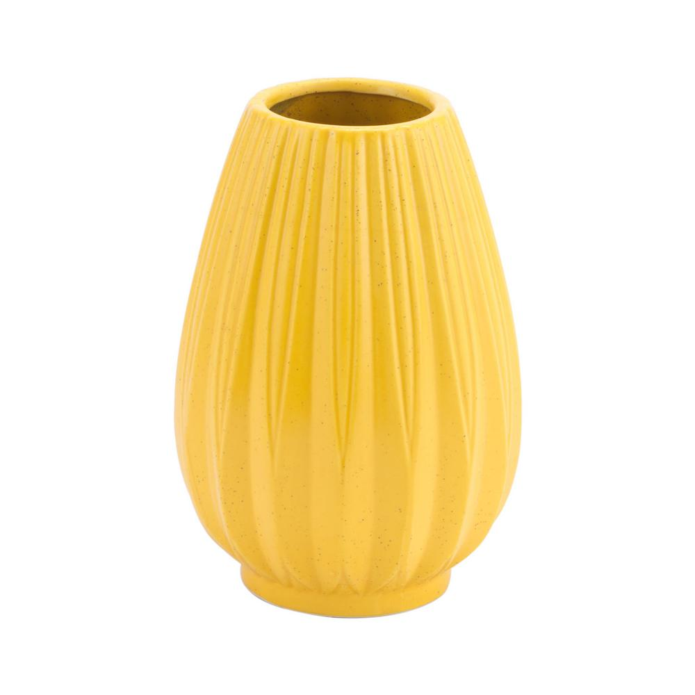 ZUO Yellow Acacia Small Decorative Vase-A11608 - The Home Depot on yellow floor vases, yellow decorative boxes, yellow decorative stone, large blue ceramic vase, yellow decorative decor, yellow decorative cross, yellow decorative glass, yellow vases ikea, yellow decorative plate, yellow decorative soap, glass bowl vase, yellow vases wholesale, yellow decorative accessories, fenton hobnail vase, southern living tuscan vase, antique cut glass bud vase, yellow decorative chandelier, yellow decorative box, yellow decorative rug, yellow decorative pillow,