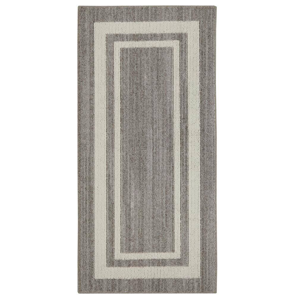 Border Loop Denim Cream 5 Ft X 8 Ft Area Rug 513870