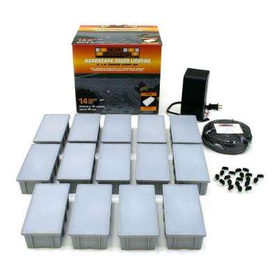 14 Light Outdoor Paver Kit