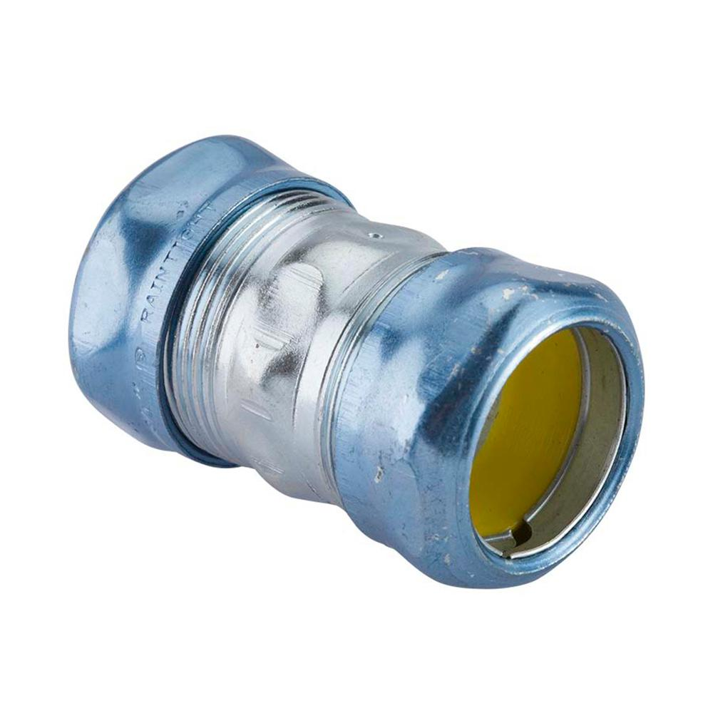 4 in. Steel EMT Rain Tight Compression Coupling (6-Pack)