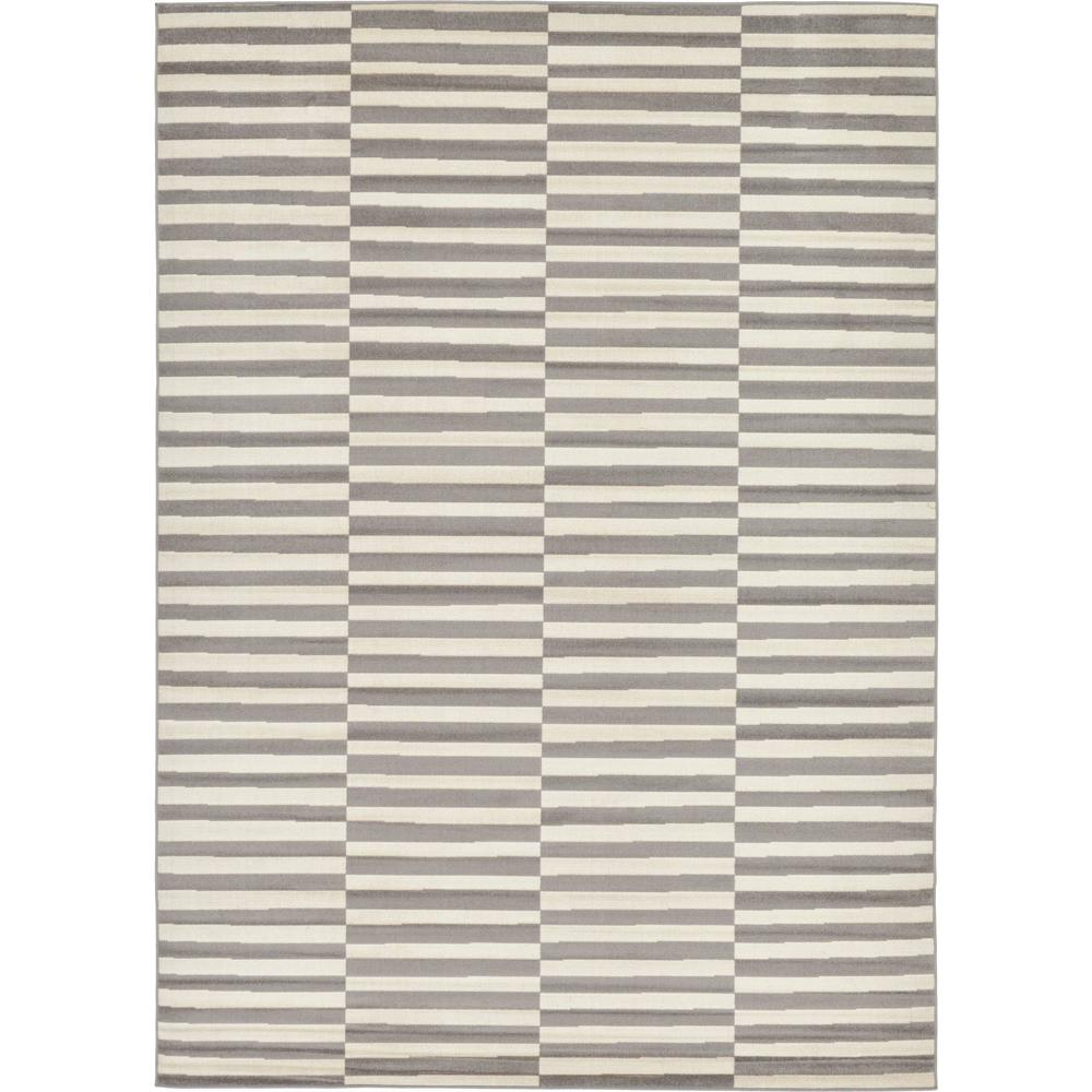 Williamsburg Gray 7 ft. x 10 ft. Area Rug