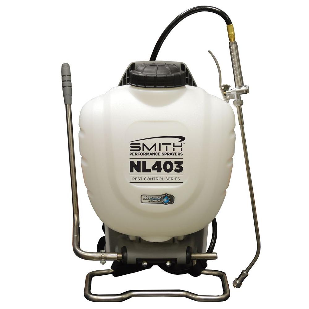 4 Gal. Pest Control No Leak Back Pack Sprayer