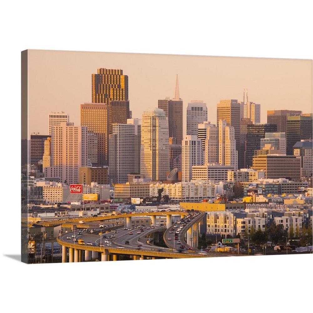 GreatBigCanvas ''California, San Francisco, Potrero Hill, view of downtown and