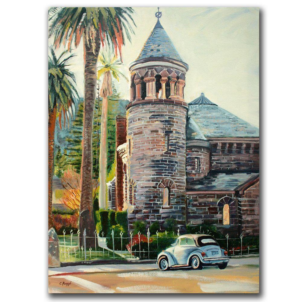 Trademark Fine Art 18 in. x 24 in. Chapel Canvas Art