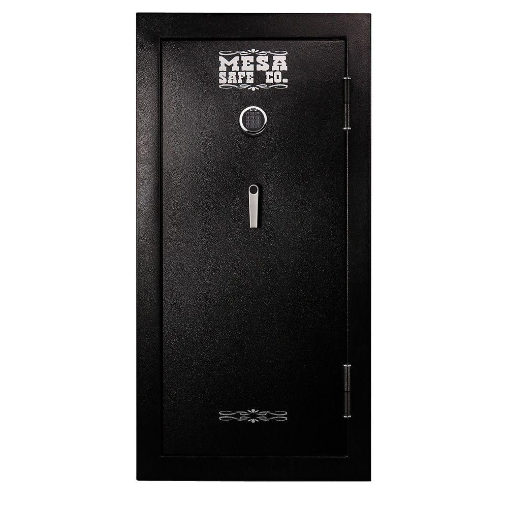 24-Gun 16.5 cu. ft. Steel 30-Minute Safe Electronic Lock, Black