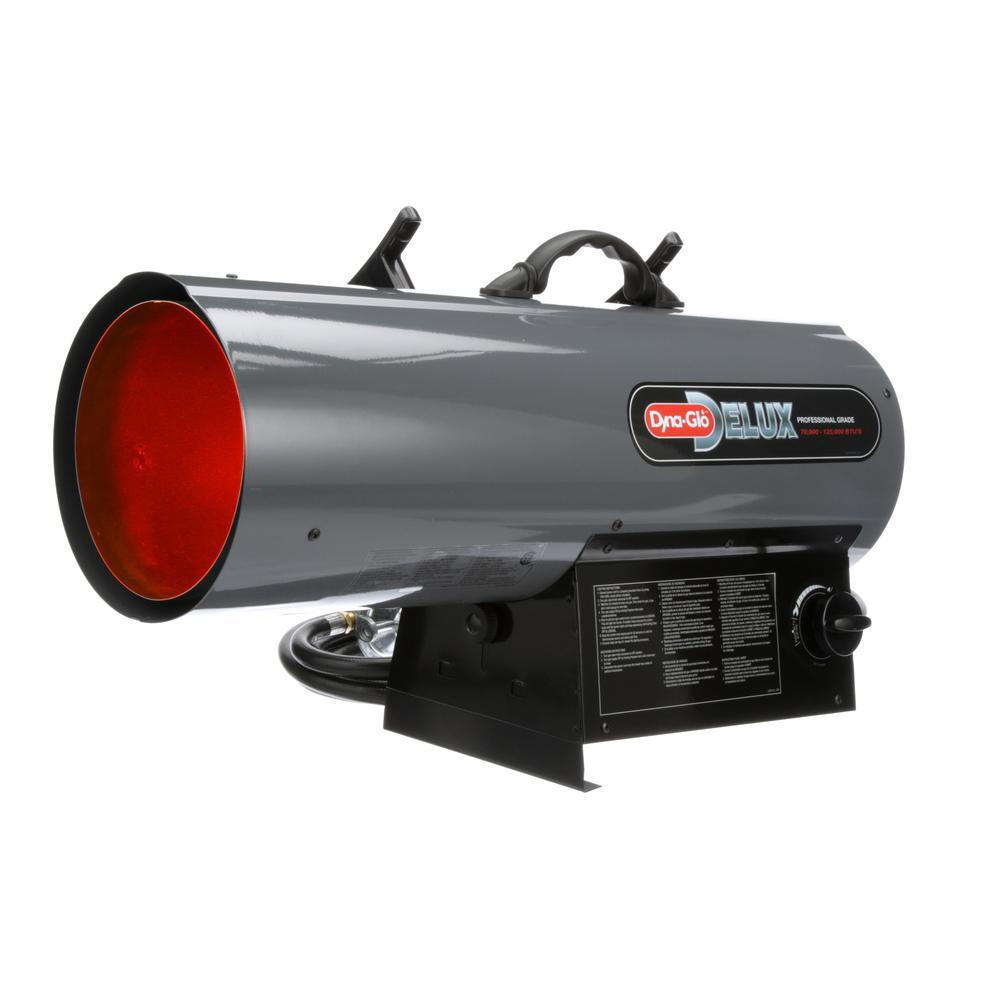 Dyna-Glo 70K - 125K BTU Propane Forced Air Heater
