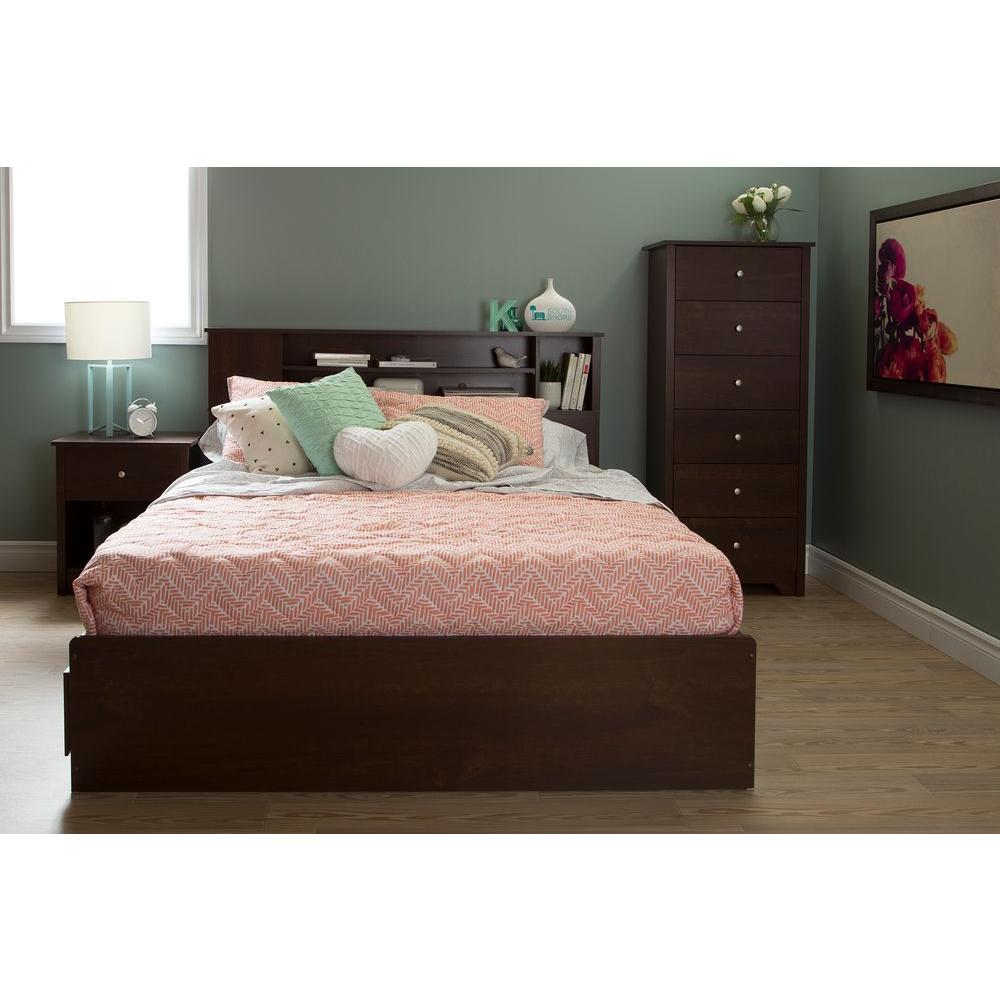South S Vito Sumptuous Cherry Full Queen Headboard