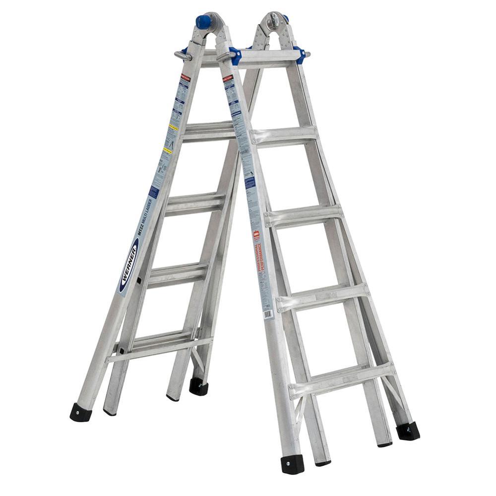 Little Giant Ladder Systems Revolution 22 Ft Aluminum