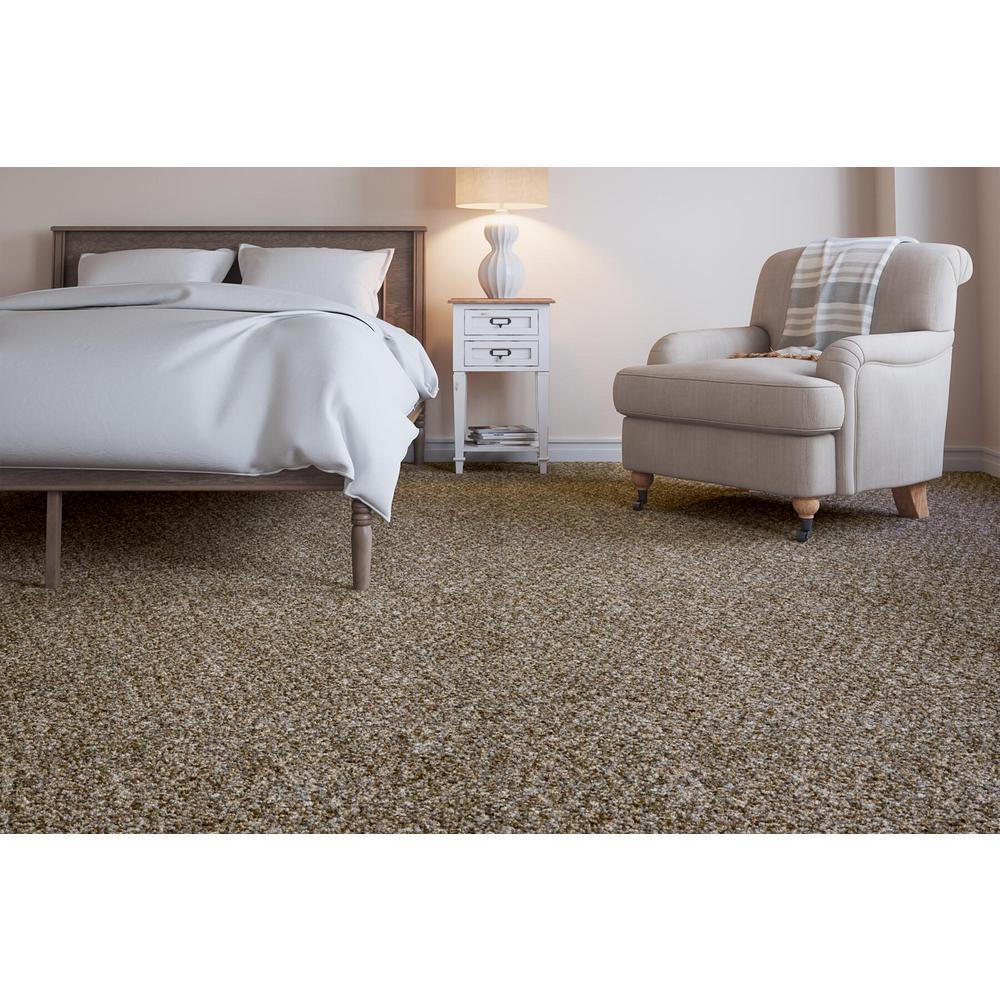 Cobblestone II - Color Post Alley Texture 12 ft. Carpet