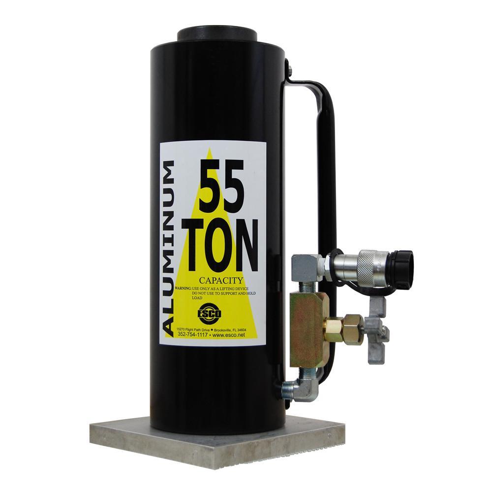 55-Ton Tall Hydraulic Cylinder Jack