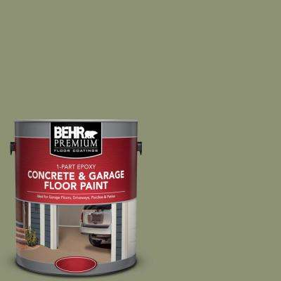 1 gal. #PFC-39 Moss Covered 1-Part Epoxy Concrete and Garage Floor Paint