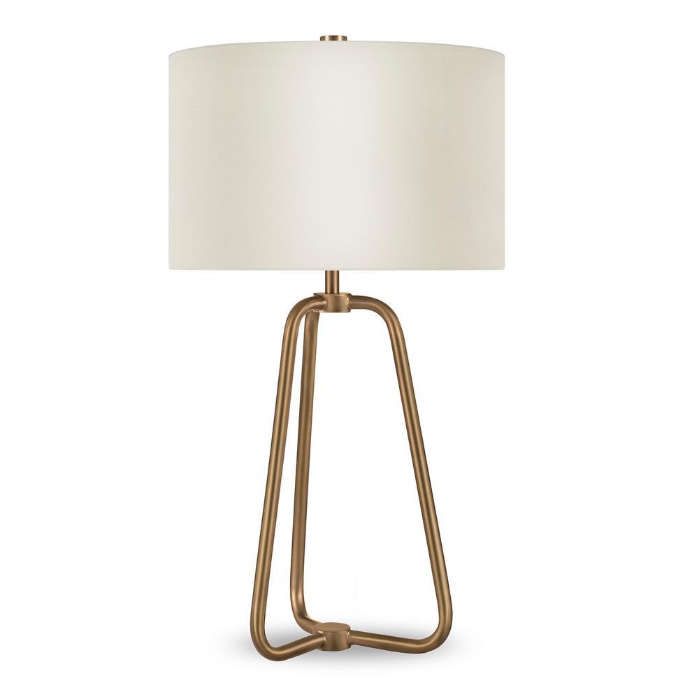 Marduk 25-1/2 in. Brass Table Lamp