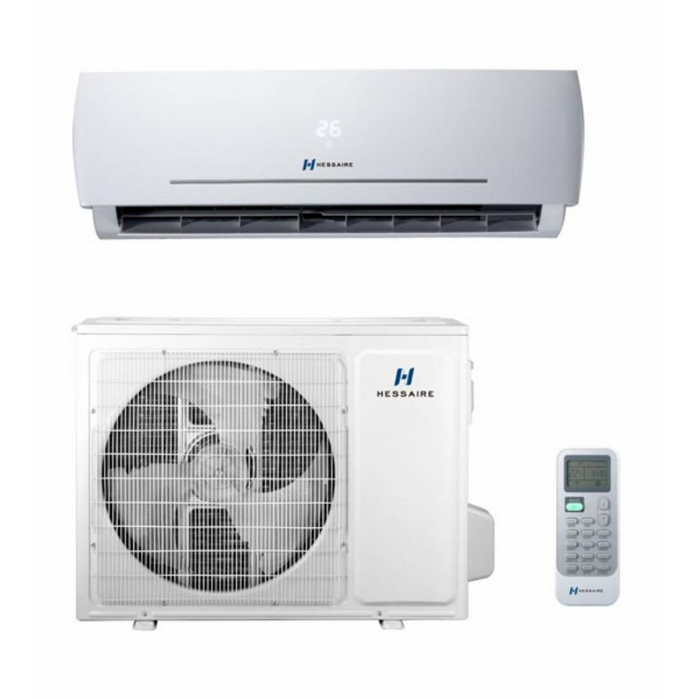 18,000 BTU 1.5 Ton Ductless Mini Split Air Conditioner and Heat