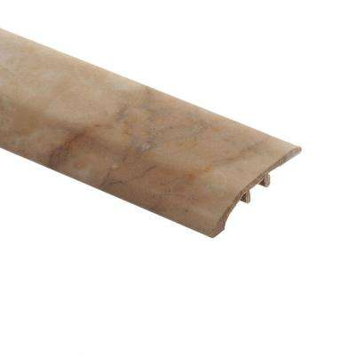 Carrara Tan 5/16 in. Thick x 1-3/4 in. Wide x 72 in. Length Vinyl Multi-Purpose Reducer Molding