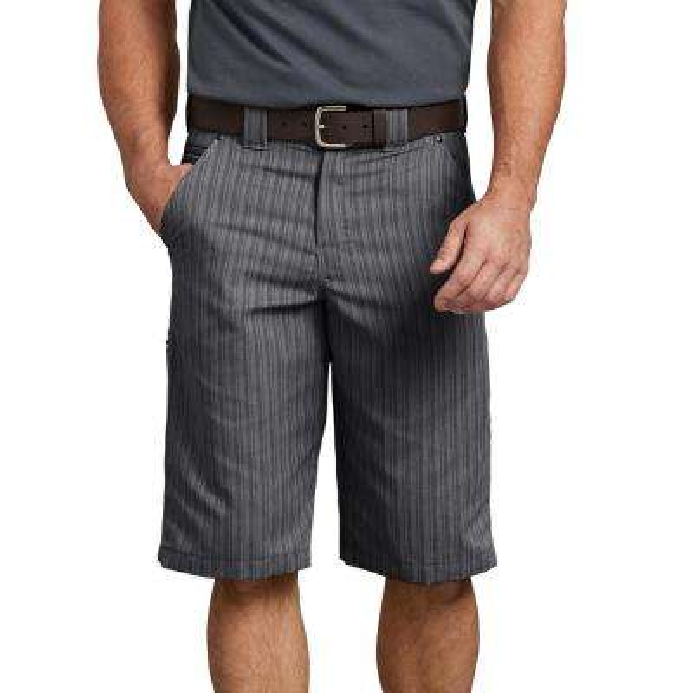 "Men's Graphite 13"" Regular Fit Shadow Stripe Short"