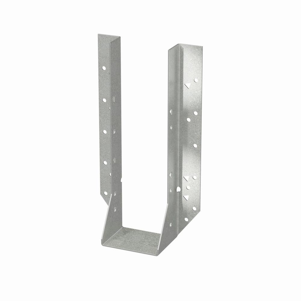 Simpson Strong-Tie HU Galvanized Face-Mount Joist Hanger for Double 2x12