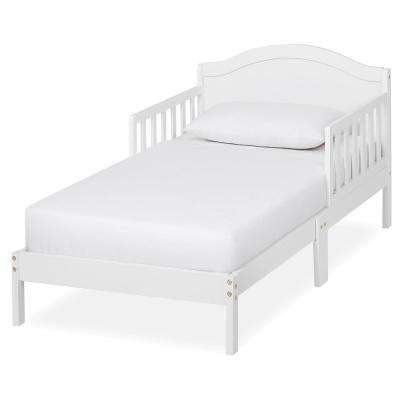 Sydney White Toddler Adjustable Toddler Bed