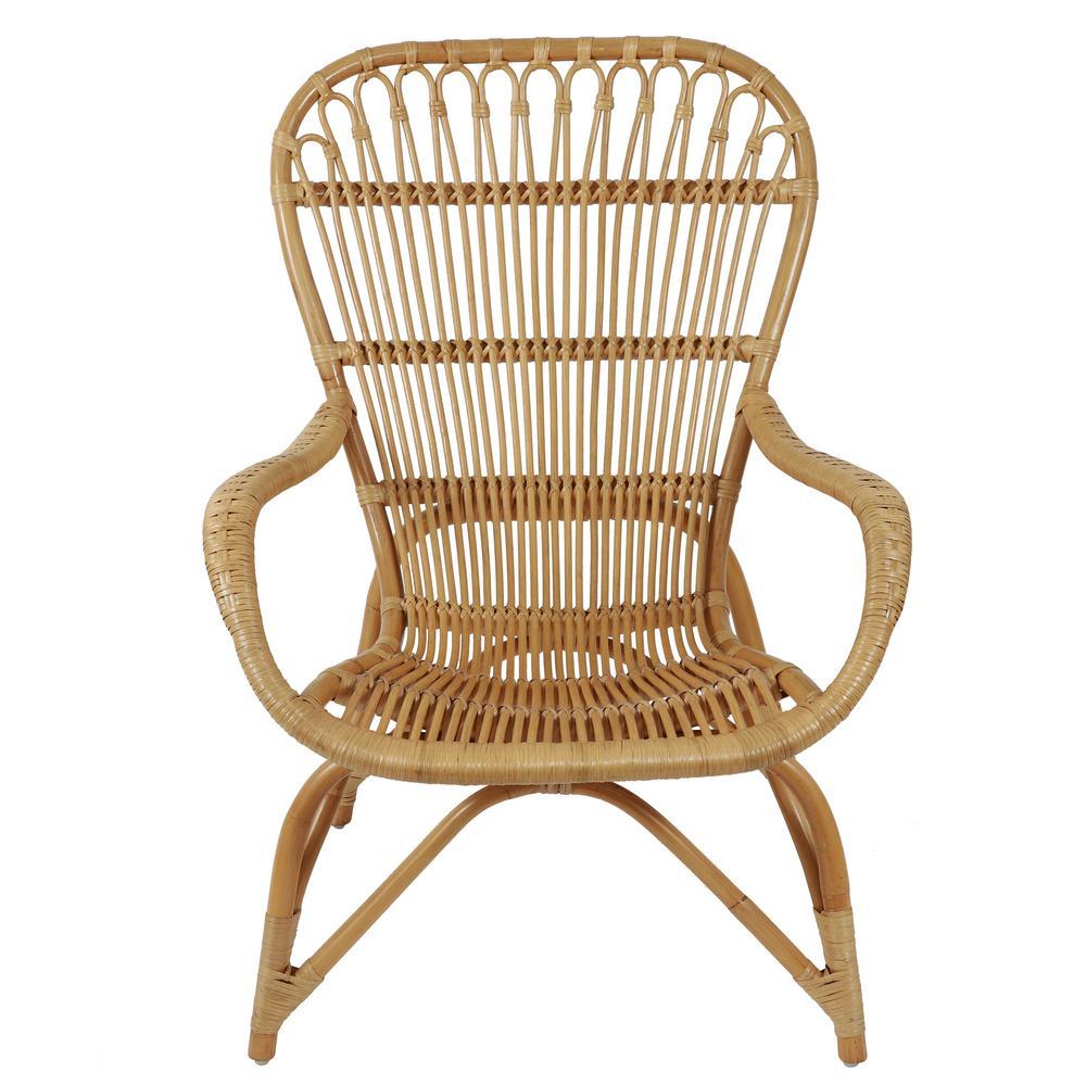 Kai Natural Rattan Arm Chair