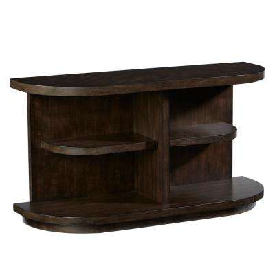 Augustine Sepia Brown Console Table